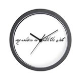 Army soldier Wall Clock