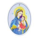 Blessed Mary Keepsake Ornament