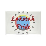 Lakotah Pride Sunburst Rectangle Magnet (100 pack)