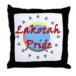 Lakotah Pride Sunburst Throw Pillow