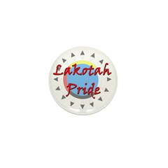 Lakotah Pride Sunburst Mini Button
