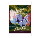 """Puerto Rico"" Postcards (Package of 8)"
