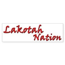 Lakotah Nation Bumper Sticker 2