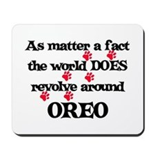 The World Revolves Around Ore Mousepad