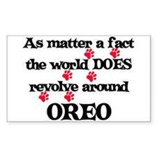 The World Revolves Around Ore Sticker (Rectangular