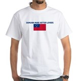 SAMOAN MAKE BETTER LOVERS Shirt