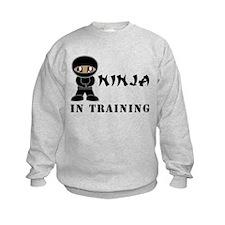 Dark Brown Eyes/Skin Ninja Sweatshirt