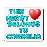 This Heart: Cordelia (E) Mousepad