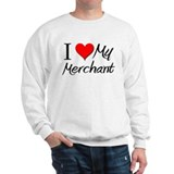 I Heart My Merchant Sweatshirt