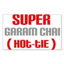 Super Garam Chai Hottie Rectangle Decal