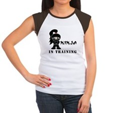 Girl Ninja In Training Tee