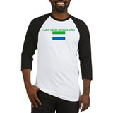 I LOVE SIERRA LEONEAN GIRLS Baseball Jersey