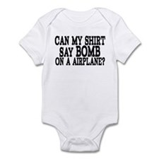 Bomb On A Airplane Infant Bodysuit