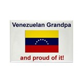 Proud Venezuelan Grandpa Rectangle Magnet