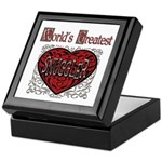 World's Best Snuggler Keepsake Box