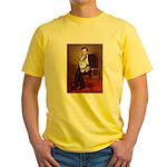 Lincoln's Corgi (Bl.M) Yellow T-Shirt