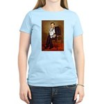 Lincoln's Corgi (Bl.M) Women's Light T-Shirt