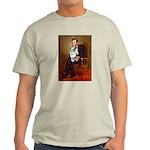 Lincoln's Corgi (Bl.M) Light T-Shirt