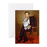 Lincoln's Corgi (Bl.M) Greeting Cards (Pk of 20)