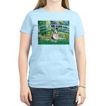 Bridge / Welsh Corgi (Bl.M) Women's Light T-Shirt