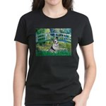 Bridge / Welsh Corgi (Bl.M) Women's Dark T-Shirt