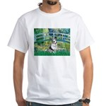 Bridge / Welsh Corgi (Bl.M) White T-Shirt