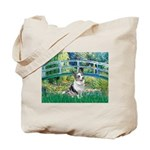 Bridge / Welsh Corgi (Bl.M) Tote Bag