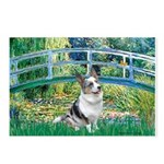 Bridge / Welsh Corgi (Bl.M) Postcards (Package of