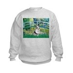 Bridge / Welsh Corgi (Bl.M) Kids Sweatshirt