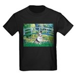 Bridge / Welsh Corgi (Bl.M) Kids Dark T-Shirt