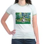 Bridge / Welsh Corgi (Bl.M) Jr. Ringer T-Shirt