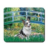 Bridge / Welsh Corgi (Bl.M) Mousepad