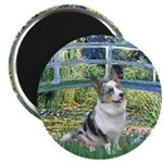 Bridge / Welsh Corgi (Bl.M) Magnet
