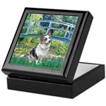 Bridge / Welsh Corgi (Bl.M) Keepsake Box