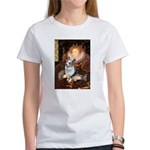 The Queen's Corgi (Bl.M) Women's T-Shirt