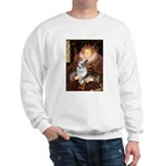 The Queen's Corgi (Bl.M) Sweatshirt
