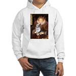 The Queen's Corgi (Bl.M) Hooded Sweatshirt