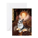 The Queen's Corgi (Bl.M) Greeting Card