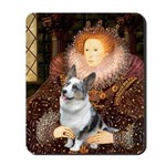 The Queen's Corgi (Bl.M) Mousepad