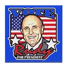 Rudy Giuliani for President Tile Coaster
