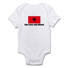 Don't mess with Albania Infant Bodysuit