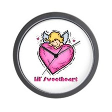 Lil' Sweetheart Wall Clock