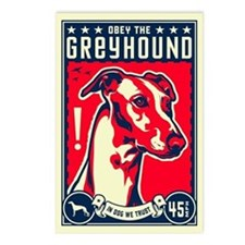 Obey the Greyhound! Postcards (Pack of 8)