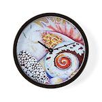 Shell Collector Wall Clock