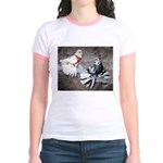 Champion Trumpeter Pigeons Jr. Ringer T-Shirt