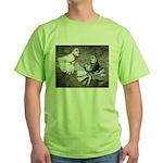 Champion Trumpeter Pigeons Green T-Shirt