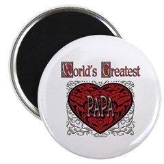 "World's Best Papa 2.25"" Magnet (10 pack)"