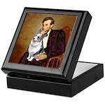 Lincoln's Corgi (Bl.M) Keepsake Box