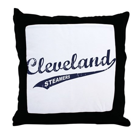 Cleveland Steamers Throw Pillow