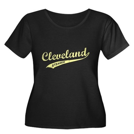 Cleveland Steamers Womens Plus Size Scoop Neck Da